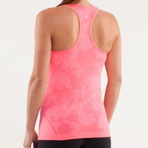 Lululemon Swifty Floral Pink Special Edition Tank